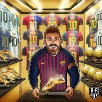 Messi won 6th Golden Boot