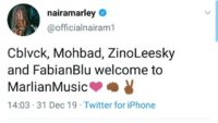 "Naira Marley Launch New Record Label ""Marlian Music"" & Signs Four Acts"