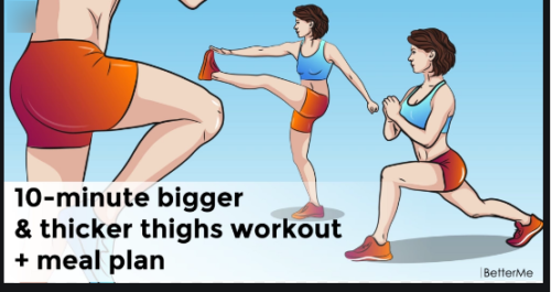 How To Get Thicker Thighs And Hips In A Week
